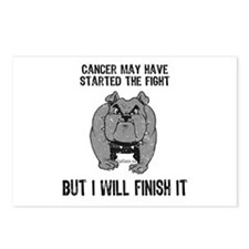 Cancer Started the Fight Postcards (Package of 8)