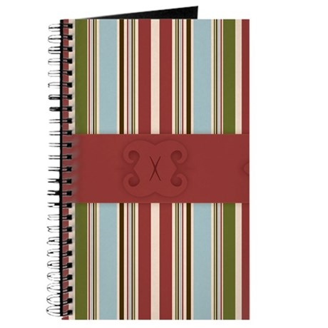 Chic Country Stripe Journal
