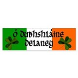 Delaney Coat of Arms Bumper Stickers