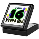 16th Birthday Keepsake Box