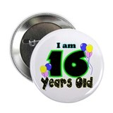 16th Birthday 2.25&amp;quot; Button (100 pack)