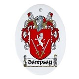 Dempsey Coat of Arms Ornament (Oval)