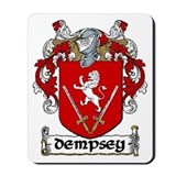 Dempsey Coat of Arms Mousepad