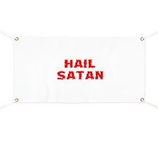 Hail Satan Banner