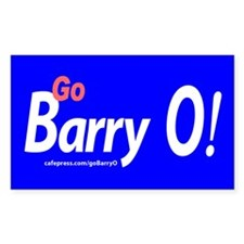 Go Barry O! Bumper Stickers (Rectangle 10 pk)