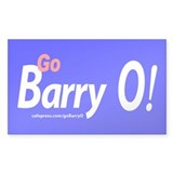 Go Barry O! Decal