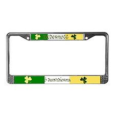 McDermott Coat of Arms License Plate Frame