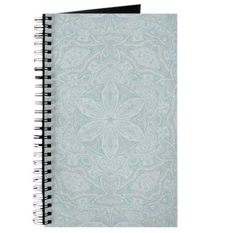 Blue Floral Lace Journal