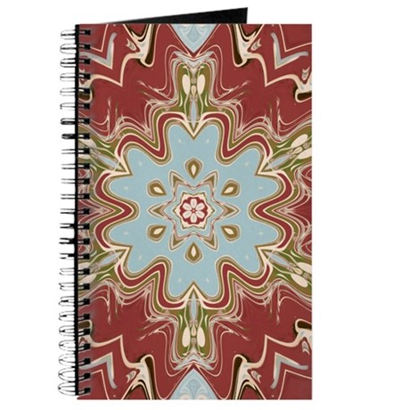 Floral Swirl Kaleidoscope Journal