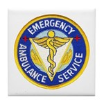 Emergency Ambulance Tile Coaster