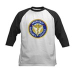 Emergency Ambulance Kids Baseball Jersey