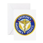 Emergency Ambulance Greeting Card