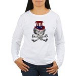 Uncle Crossbones Women's Long Sleeve T-Shirt