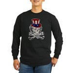 Uncle Crossbones Long Sleeve Dark T-Shirt