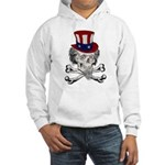 Uncle Crossbones Hooded Sweatshirt
