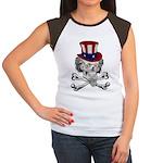 Uncle Crossbones Women's Cap Sleeve T-Shirt