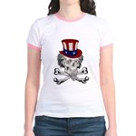 Uncle Crossbones Jr. Ringer T-Shirt