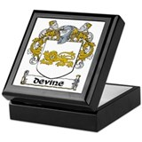 Devine Coat of Arms Keepsake Box