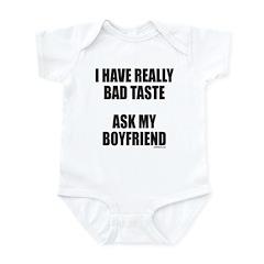 BAD TASTE Infant Bodysuit