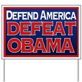 Anti obama yard signs Yard Signs
