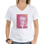 Tesla-2 Women's V-Neck T-Shirt