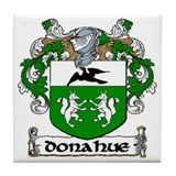 Donahue Coat of Arms Ceramic Tile