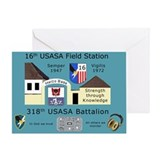 USASA Field Station Herzo Base Greeting Card