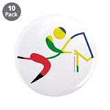 "Equestrian Horse Olympic 3.5"" Button (10 pack)"