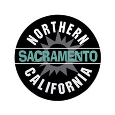 "Sacramento California 3.5"" Button"