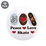 Peace Love Skate Skateboard 3.5