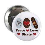 Peace Love Skate Skateboard 2.25