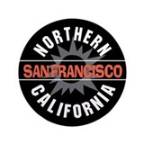 "San Francisco California 3.5"" Button"
