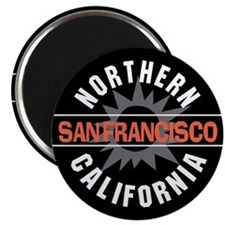 "San Francisco California 2.25"" Magnet (10 pack)"