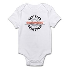 San Francisco California Infant Bodysuit