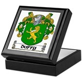 Duffy Coat of Arms Keepsake Box