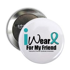 """PCOS Awareness 2.25"""" Button (10 pack)"""