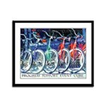 Hope Inspiration Teamwork Framed Panel Print