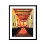 San Diego Mission Framed Art Print
