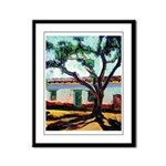 Pepper Tree in San Diego Framed Panel Print