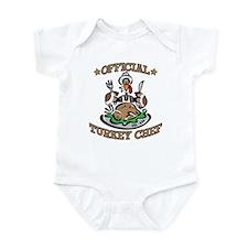 OFFICIAL TURKEY CHEF Infant Bodysuit