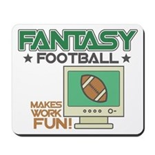Fantasy Football Humor Mousepad