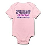 Fingers May Be Small Grandma Onesie