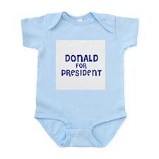 Donald for President Infant Creeper