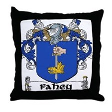 Fahey Coat of Arms Throw Pillow
