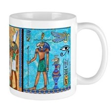Egyptian Gold/Turquoise Small Mug