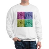 Shih Tzu Pop Art Missy Sweatshirt