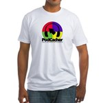Podcacher Fitted T-Shirt