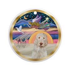 Xmas Star - Italian Spinone #11 Ornament (Round)