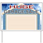 Huge Garage Sale Yard Sign