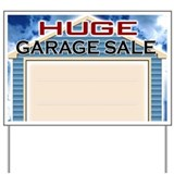 Huge Garage Sale Yard Sign